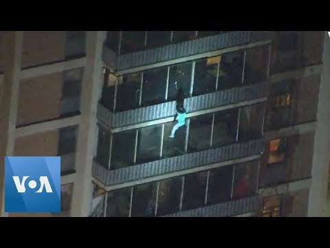 Ashlee - Man With Fractured Hip Scales 19-Floor Building To Save Mother From Fire