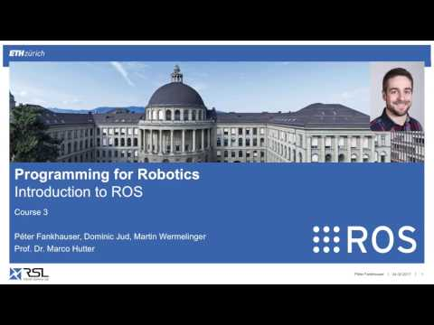 Programming for Robotics (ROS) Course 3
