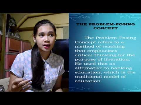 Banking Concept of Education   Oral Presentation
