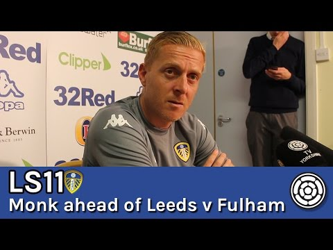 LS11 | Garry Monk ahead of LUFC v Fulham