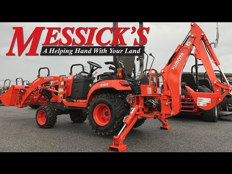 *NEW* Kubota BX23s BT603 Backhoe removal