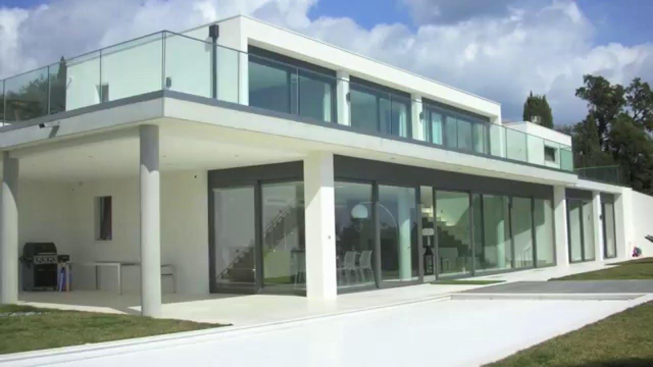 les issambres 83380 vente villa moderne de 350 m vue mer panoramique youtube. Black Bedroom Furniture Sets. Home Design Ideas