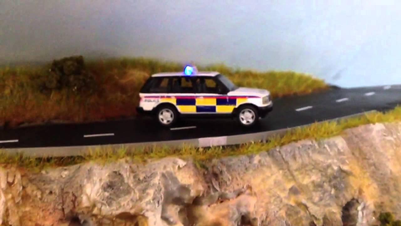 Police Car Lights Oo Gauge Youtube