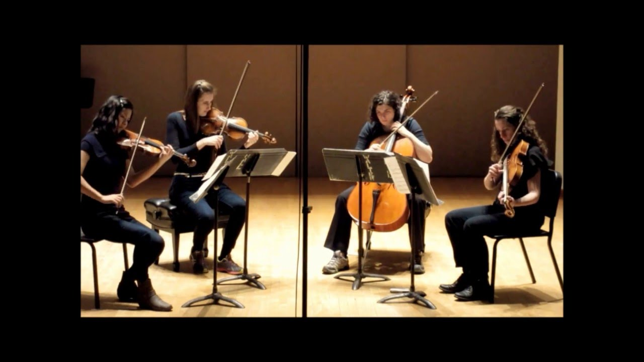 Breathe 2015 Performed By The Cecilia String Quartet Youtube