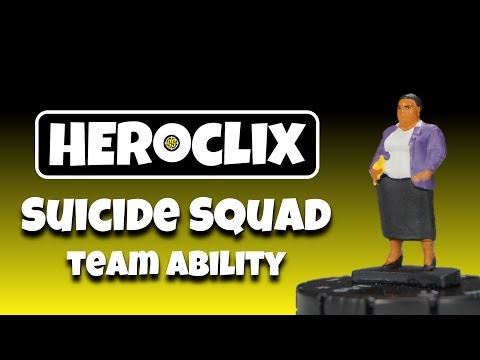 Heroclix Tutorial: The Suicide Squad Team Ability