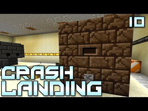 """Minecraft Crash Landing 10 - """"I'm SMELTING!!!"""" (Modded Minecraft)"""