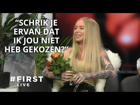Lie Meurs (Ex On The Beach) wordt versierd door Jayh, Aziz Kallah en Veras #FIRST LIVE