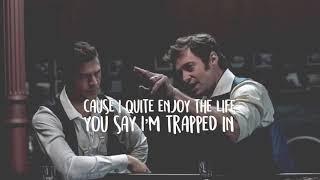 """The other side"" lyrics   Hugh Jackman, Zack Efron; The greatest Showman"