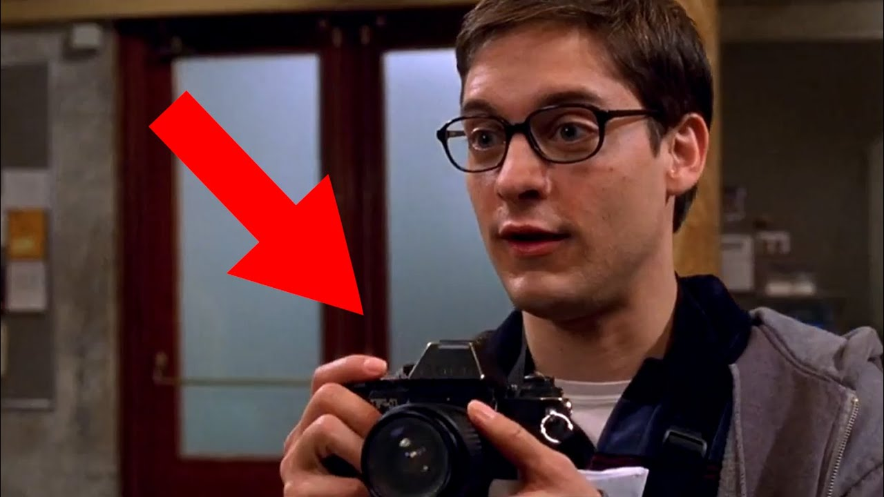 The Analog Camera used in Spiderman