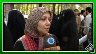 Demonstration for Myanmar Muslims Iran Palestinian Egypt