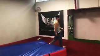Tiger shroff new practice stunts