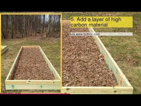 TOP 10 Tips For Lasagna Gardening