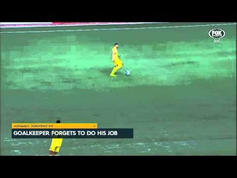 Goalkeeper howler in the AFC Cup
