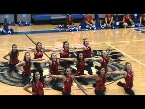 LHS Flames Kim possible theme song kick routine