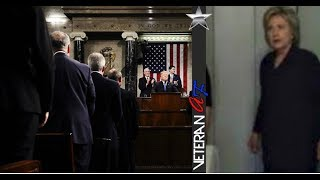 HILLARY CAUGHT TRYING TO SABOTAGE TRUMP'S FIRST SOTU MINUTES BEFORE HE TOOK STAGE!