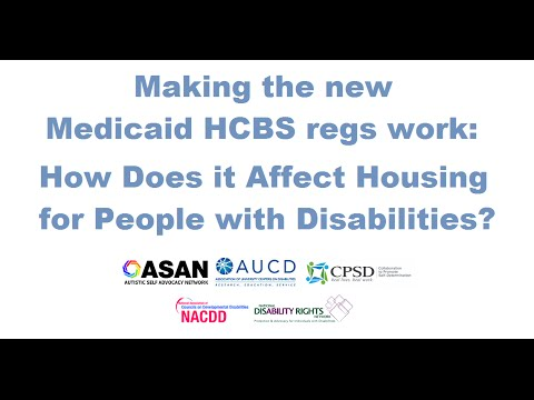 The New HCBS Rule – How Does it Affect Housing for People with Disabilities?!