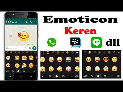 Emoji Keren Untuk Whatsapp, BBM, Line Dan Lainnya