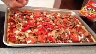 Bubbas Thin Crust Pizza