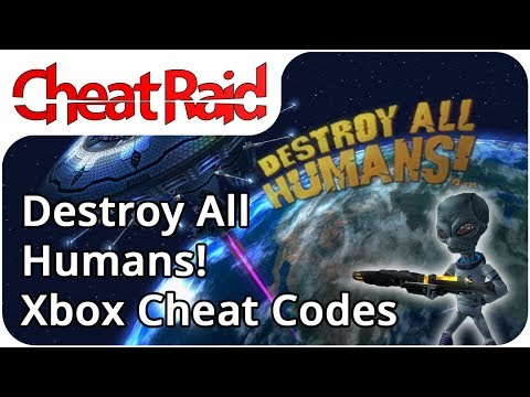 Destroy All Humans! Cheat Codes | Xbox