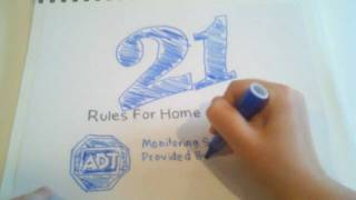 Rule21 ADT Security Monitoring Information