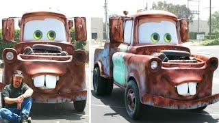 Автомобили Из Кино, Которые Собрали В Реальности