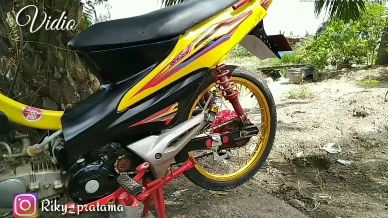 Modifikasi Simple Motor Supra Fit New