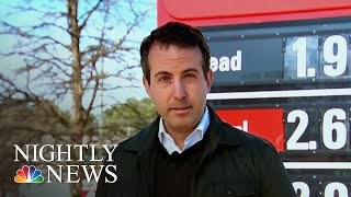 Gas Prices Plummeting Ahead Of Holiday Travel | NBC Nightly News