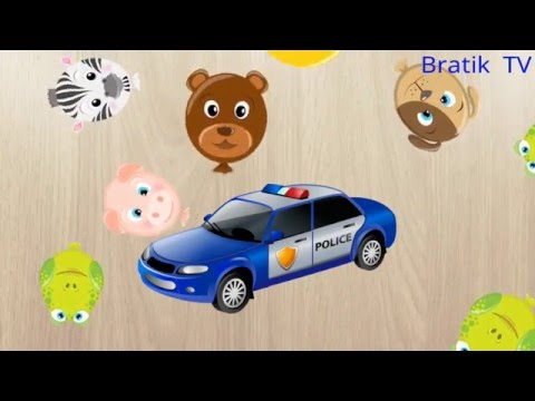 Puzzlespiel Für Kinder. Learn German. Пазлы для детей на немецком – учим немецкие слова