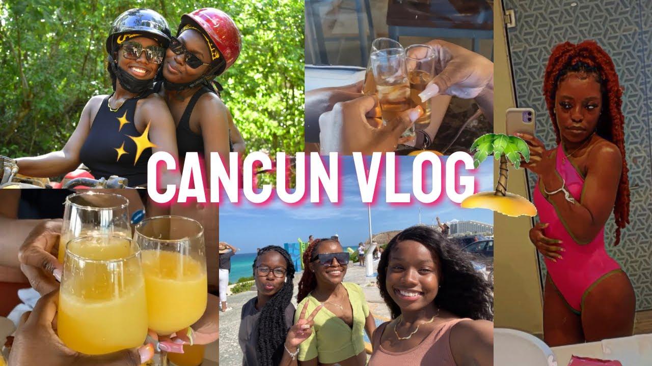 GIRLS TRIP TO CANCUN 2021 | Travel Vlog ✈️ 🌴