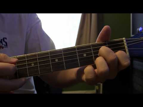 Brief Tutorial on I Walk The Line Chords