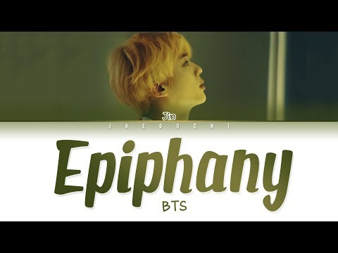 Mix - BTS Jin - 'EPIPHANY' LYRICS (Eng/Rom/Han/가사)