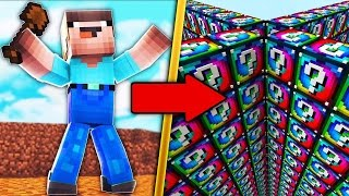НУБ ПРОТИВ ЛАКИ БЛОКОВ В МАЙНКРАФТ 9 Мультик Майнкрафт Minecraft