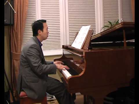 Gershwin song: the man I love - piano transcription performed by Ben Chan 06/2011