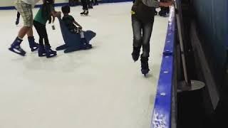 Ice skating Margo City Depok
