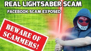 Star Wars Light Saber Scam EXPOSED! thumbnail