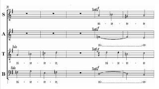 Tenor Mozart KV49 -2 Missa Brevis - Gloria
