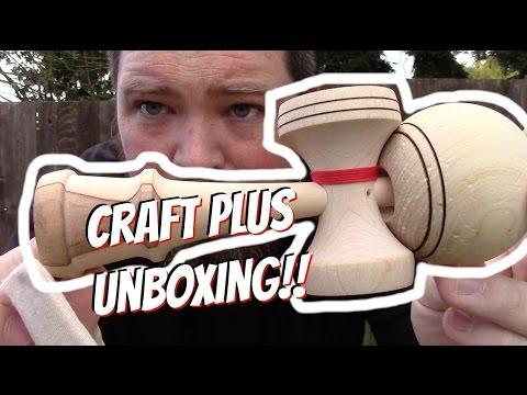 Craft PLUS Kaizen 2.0 Kendama USA Unboxing!