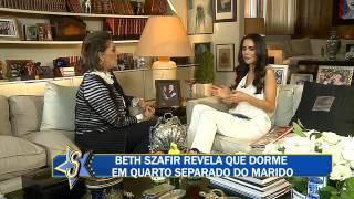 Mãe de Luciano Szafir revela que filho tornou se ator graças a Hebe Camargo