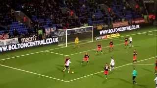 Saidy Janko AMAZING GOAL Bolton Wanderers vs Fulham 3-1 HD