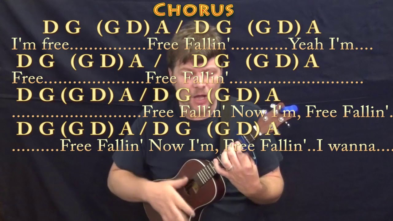 Free fallin tom petty ukulele cover lesson with chordslyrics free fallin tom petty ukulele cover lesson with chordslyrics capo 3rd hexwebz Image collections
