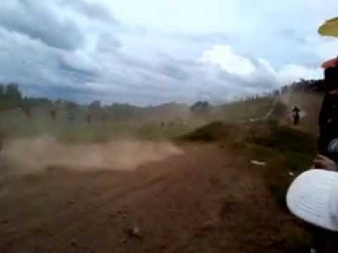 Motocross Competition At Balud Masbate Part 1