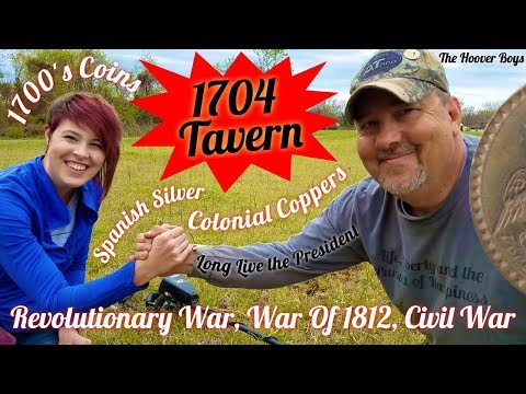 Metal Detecting finds long lost colonial treasures | 1704 Tavern
