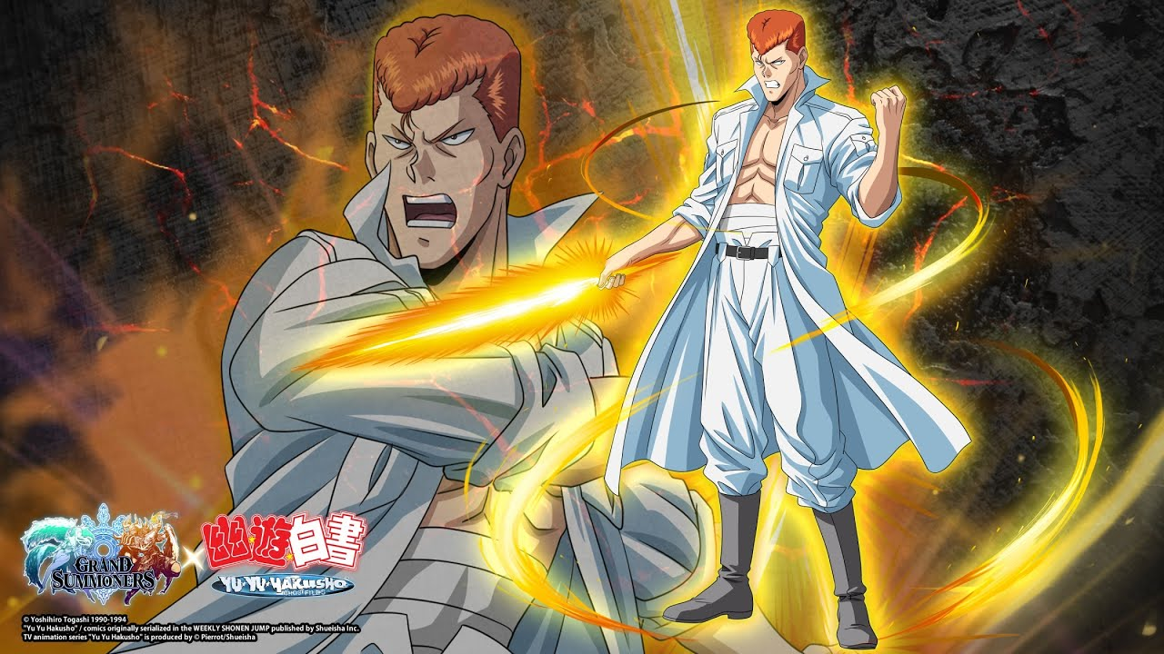 ⚡️Kuwabara comes to Grand Summoners! 💥