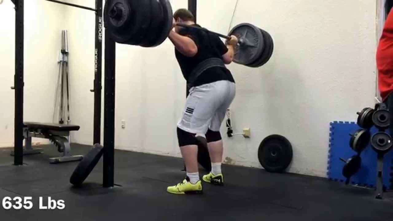 eca06e3f Reebok CrossFit Lifter Plus 2.0 635# Squat Double - YouTube