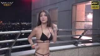 情色教主雪碧 鍛練胸器 泳池派對