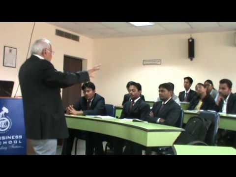 "Lecture on ""Political and legal environment facing international business"" by Prof. Jaipal S. Dahiya"