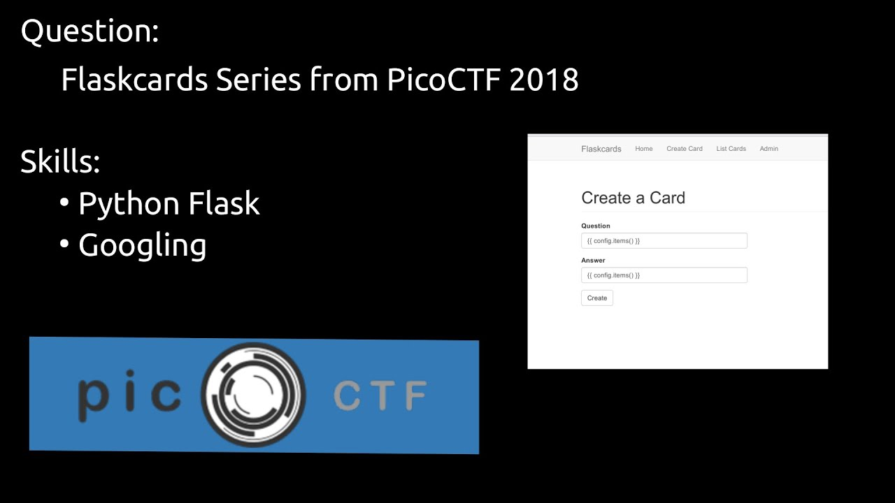 Flask vulnerabilties! PicoCTF 2018