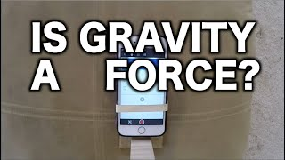 Experimental Proof That Gravity Is Not A Force (And The Acceleration Is Upwards)
