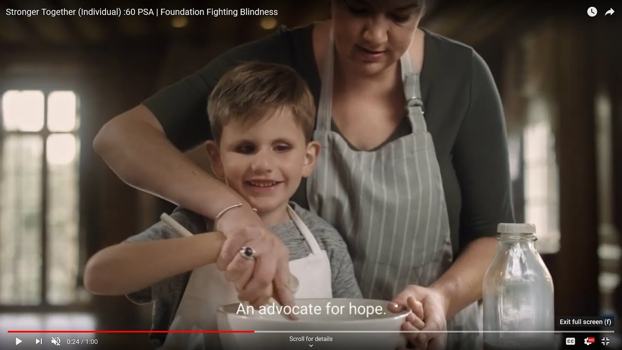 Stronger Together (Individual) :60 PSA   Foundation Fighting Blindness