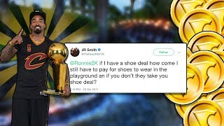 JR SMITH TWEETS 2K DEVS TO GET US ALL SHOES FREE!! IN NBA 2K18!